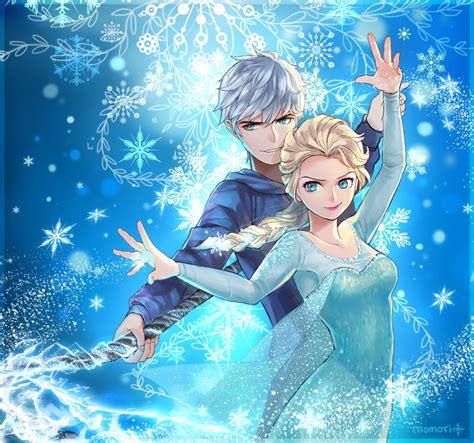 film elsa dan jack bahasa indonesia elsa and jack frost frozen fan art 37543034 fanpop