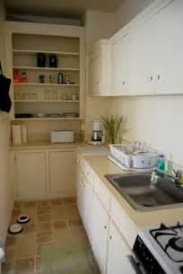 Galerry design for small galley kitchen