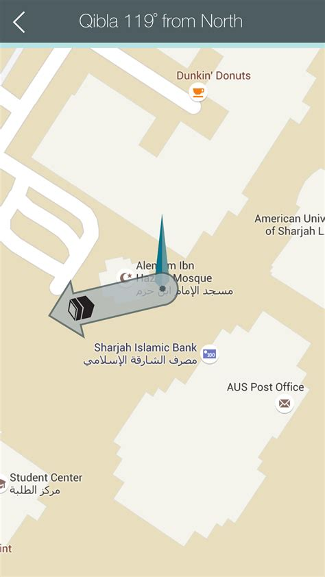 android layout direction android how to point qibla direction on google map stack