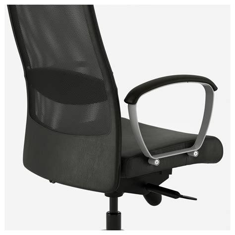 ikea markus chair markus swivel chair glose black ikea