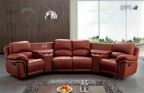 semi circle chairs sofas half curved corner half circle sectionals home ideas