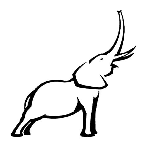 african elephant outline tattoo pinterest images of elephant outline tattoos pinterest elephants and