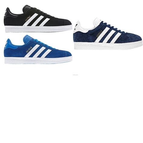 adidas classic gazelle suede trainers casual shoes genuine mens trainers ebay