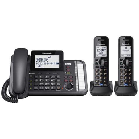 Panasonic Corded Phone Kx T7765 Dp panasonic kx tg9582b link2cell dect 6 0 2