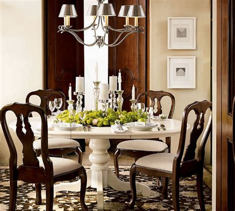 Decorating Ideas For Dining Room Table by Traditional Dining Room Table Decor Photograph Decorating