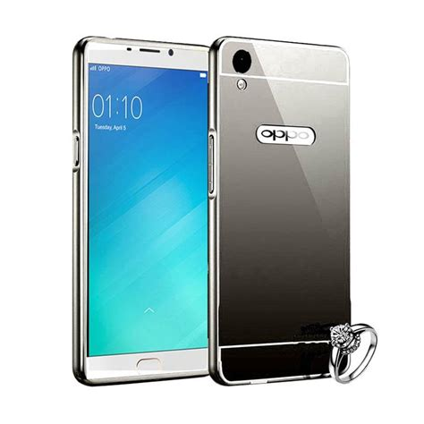 Bumper Miror Oppo F1 jual elshadai bumper mirror casing for oppo f1 plus or
