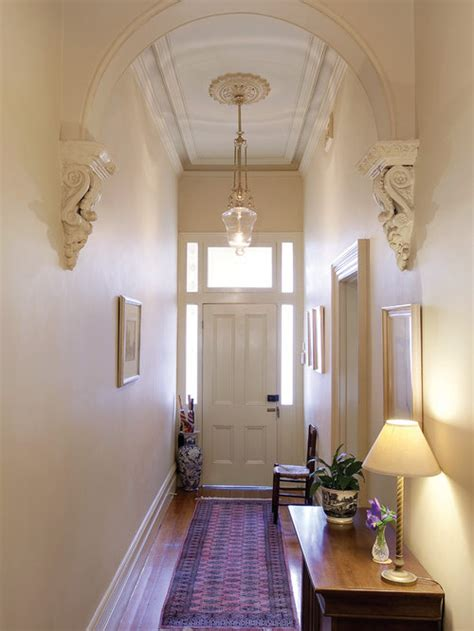 narrow entryway houzz