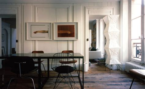 the interiors of the parisian apartments cool offices holding the line