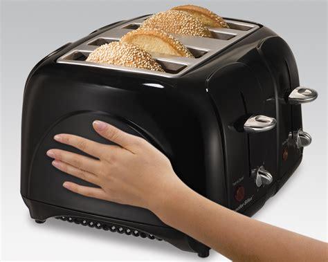 Proctor Silex 2 Slice Bagel Toaster Amazon Com Proctor Silex Cool Touch 4 Slice Toaster