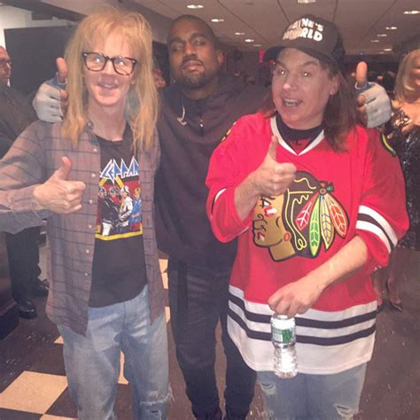 mike myers kanye mike myers dana carvey diss kanye west at snl 40th