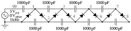 capacitor diode multiplier 301 moved permanently