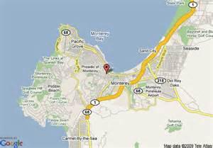 map of marriott hotels in california map of marriott monterey monterey