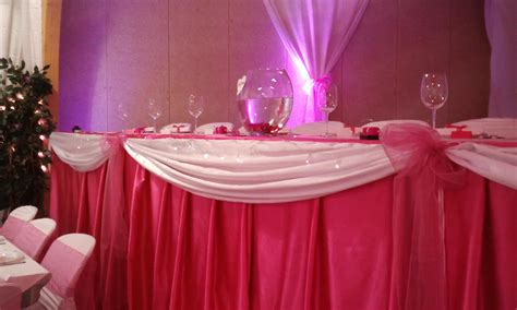 decoration mariage table des mari 233 s