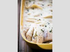 Cheese Stuffed Shells With Alfredo Sauce - The Gunny Sack Jumbo Shells