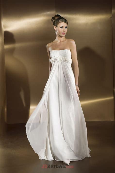 Wedding Dresses Empire Waist by Strapless Empire Waist Wedding Dress Cocktail Dresses 2016