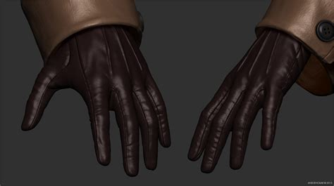 zbrush gloves tutorial yekaterina andor kollar character artist