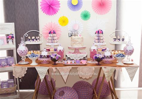pink and purple buffet abegaile s pretty in pink purple baby shower