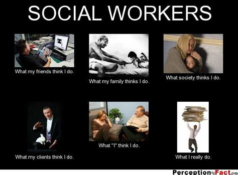 Social Meme - social workers what people think i do what i really