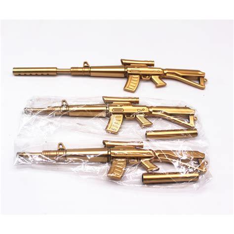 Machine Gun Pen 1pcs sell golden machine gun pen ballpoint pens