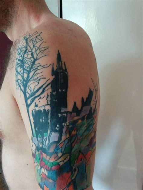 watercolor tattoos glasgow 17 best images about tattoos on radiohead