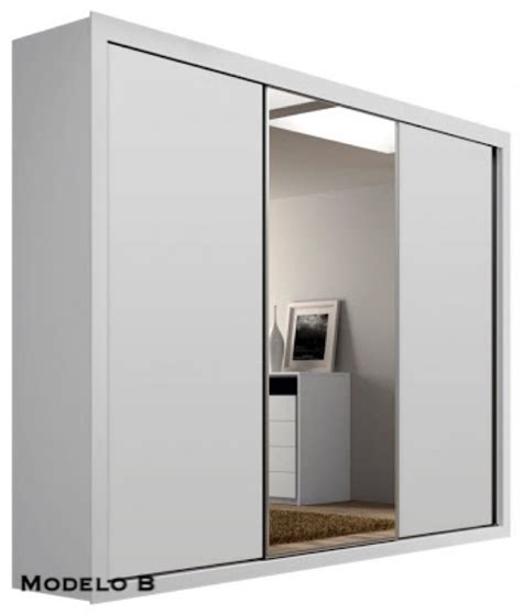 armario guarda roupa guarda roupa 100 mdf roupeiro 3 portas correr r 2 180