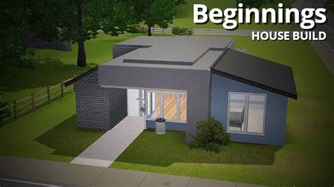 The Sims 3 House Building   Beginnings (Starter Home