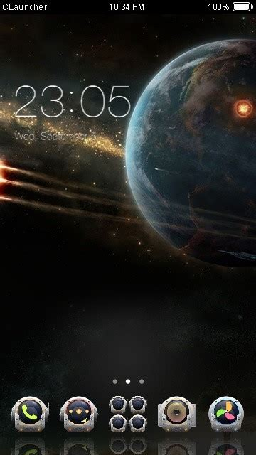 c launcher themes apk free download for android space capsule c launcher theme free android theme download
