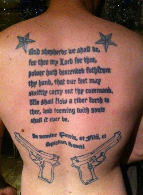 underbutt tattoos 4 underbutt tattoos boondock saints tattoos