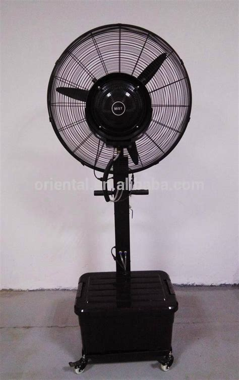 industrial fan with water spray mist fan 26 quot industrial water mist fan spray stand fan