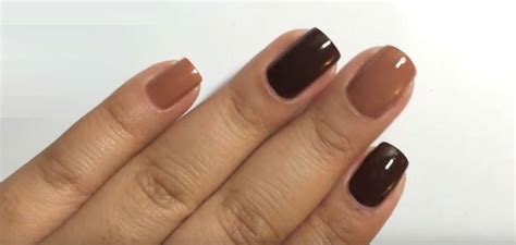 light brown nail brown nail light how to colors