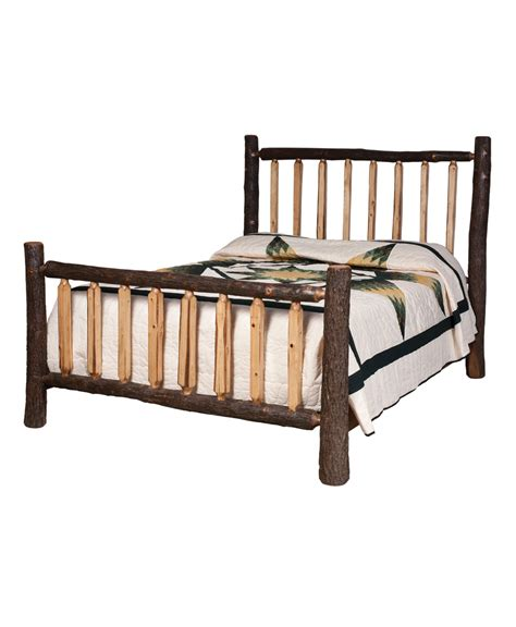 spindle bed lumber jack shaved spindle bed amish direct furniture