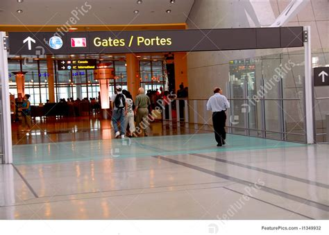 Airport Terminal: People Gate Airport   Stock Picture I1349932 at FeaturePics