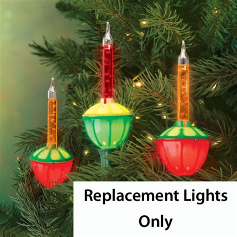 Replacement Bubble Lights Set Of 3 B Q Replacement Tree Light Bulbs