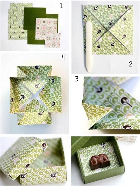 Easy Origami Gift Box - 24 and incredibly useful gift wrap diys gift wrap