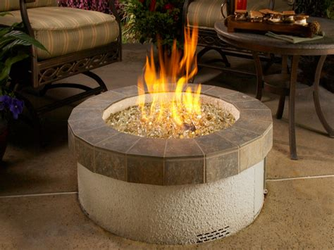 Glass Firepit Outdoor Glass Pit Styles Pixelmari