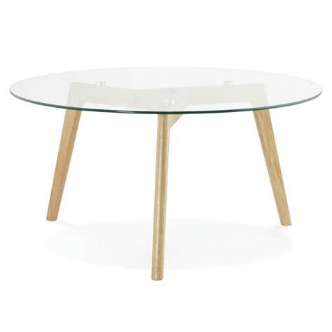 table basse quot kastra quot transparent
