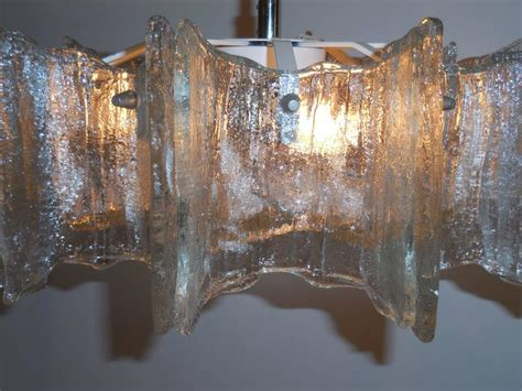 funky texture glass vintage chandelier for sale at 1stdibs - Funky Chandeliers