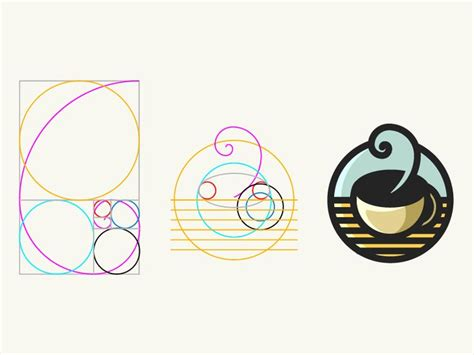 design logo with golden ratio 17 best images about logo design geometry on pinterest