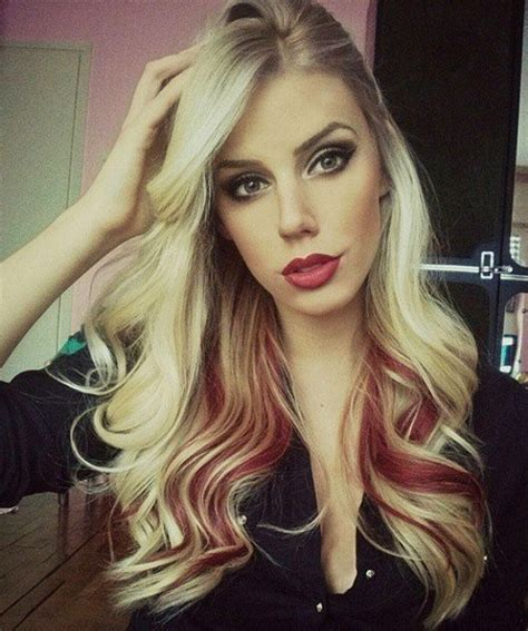two toned hair color hair color inspiration
