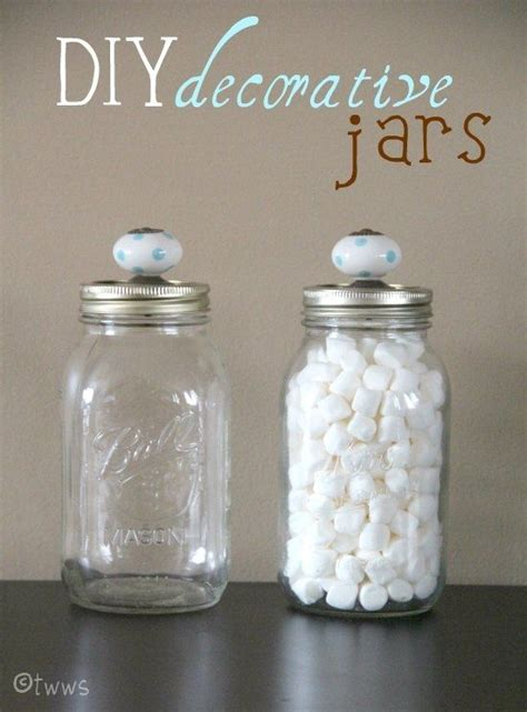 Mason Jars Door Knobs Diy Gt Best Of Pinterest Jar Bathroom Storage