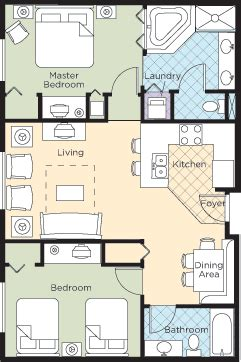wyndham grand desert floor plan grand desert 2 bedroom