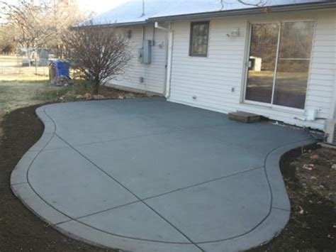 Patio Designs Curved Curved Patio Opp Concrete Wichita Commercial And