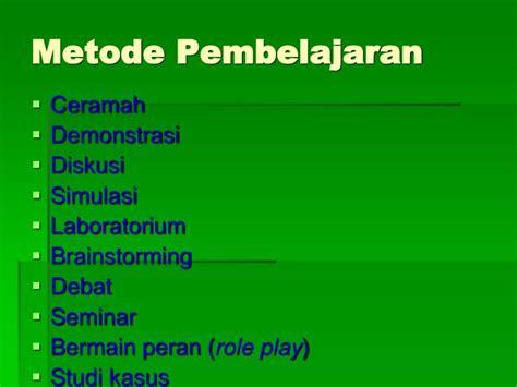 Metode Pembelajaran Bydrasumiati N Asra ppt metoda pembelajaran powerpoint presentation id 1813242