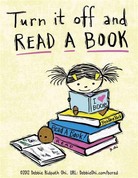 read picture books turn it and read a book free print ready posters for