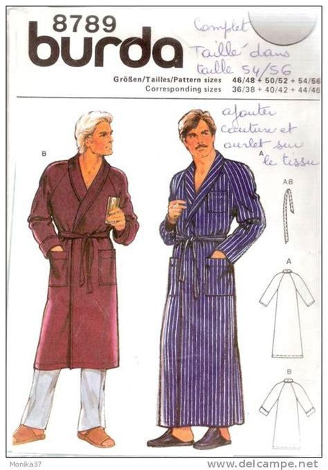 patron gratuit robe de chambre femme modele couture robe de chambre