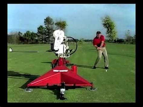 paul wilson swing machine golf swing a golf club like tiger woods or iron byron youtube