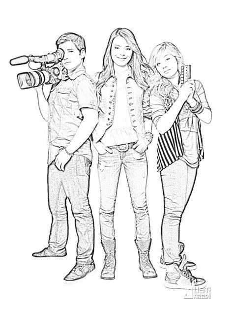 free printable coloring pages for victorious az coloring