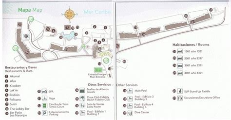akumal resort map resort map picture of akumal bay wellness resort