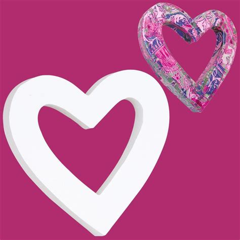 imagenes de corazones vacios coraz 243 n cl 225 sico de cart 243 n vacio 12 cm coraz 243 n para