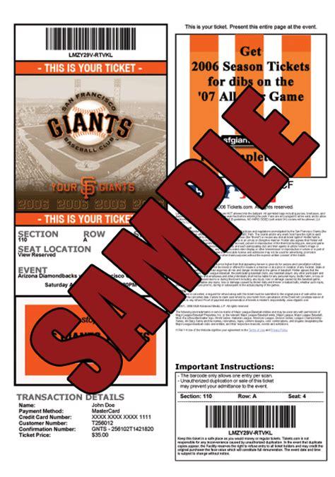 stubhub printable tickets legit print your tickets at home san francisco giants